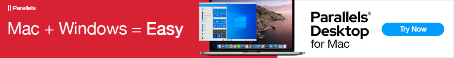 Parallels Desktop for the MAC will run Windows in a protected environment